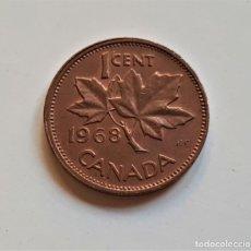Monedas antiguas de Europa: CANADA 1 CENT 1968. Lote 176450422