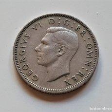 Monedas antiguas de Europa: GRAN BRETAÑA ONE SHILLING 1947. Lote 176450785