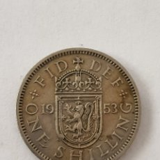 Monedas antiguas de Europa: MONEDA REINO UNIDO. 1953. ONE SHILLING. Lote 176524552