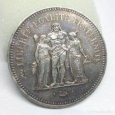 Monedas antiguas de Europa: MONEDA DE PLATA - 50 FRANCOS FRANCESES DE 1976. Lote 176671783
