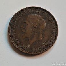 Monedas antiguas de Europa: GRAN BRETAÑA HALF PENNY 1932. Lote 176689779