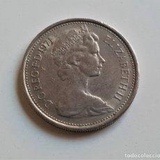 Monedas antiguas de Europa: GRAN BRETAÑA 5 NEW PENCE 1971. Lote 176814548
