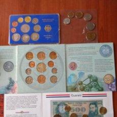 Monedas antiguas de Europa: LOTE DE ( MONEDAS SIN CIRCULAR) , ESTUCHADAS. MÁS ARTÍCULOS ANTIGUOS EN MI PERFIL.. Lote 176916552