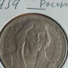 Monedas antiguas de Europa: POLONIA MONEDA 1959 10 ZLOTHING. Lote 176919523