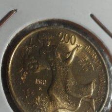 Monedas antiguas de Europa: ITALIA 200 LIRAS 1981. Lote 176920148