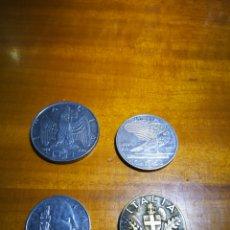 Monedas antiguas de Europa: LOTE MONEDAS ITALIANAS SEGUNDA GUERRA MUNDIAL. Lote 176948957