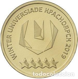 Rusia 10 Rublos 2018 Universiada De Invierno Kr Comprar Monedas Antiguas De Europa En Todocoleccion 196241745