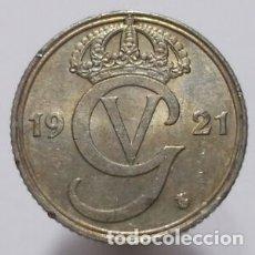 Monedas antiguas de Europa: 25 ORE SUECIA 1921. Lote 177015053