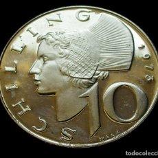 Monedas antiguas de Europa: AUSTRIA 10 SHILLING 1973 SC. -PLATA-. Lote 177061607