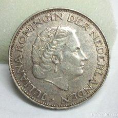 Monedas antiguas de Europa: MONEDA DE PLATA - 2 1/2 GULDEN HOLANDÉS DE JULIANA KONINGIN (1960). Lote 177305158