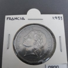 Monedas antiguas de Europa: FRANCIA 5 FRANCOS 1933. Lote 177832915