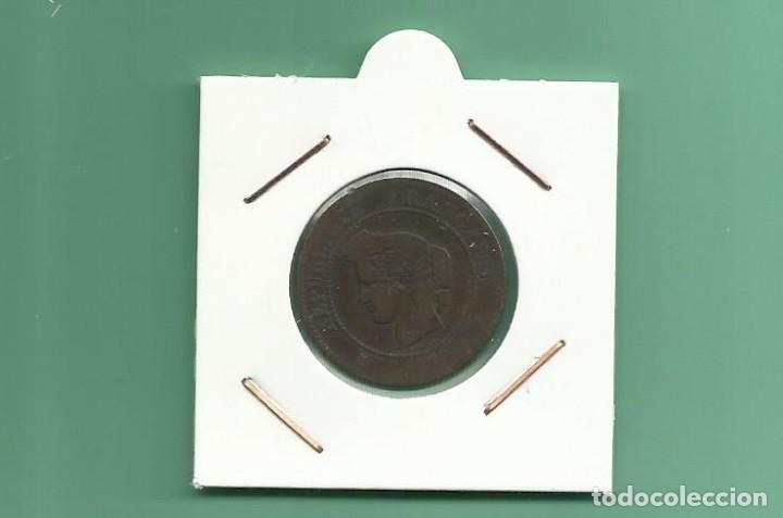 FRANCIA. 5 CENT 1872. COBRE (Numismática - Extranjeras - Europa)