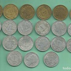 Monedas antiguas de Europa: FRANCIA: 21 MONEDAS DE 1 FRANC. DE 1932 A 1959. Lote 178086508