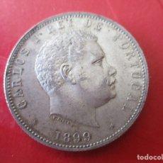 Monedas antiguas de Europa: PORTUGAL. 1000 REIS DE PLATA. CARLOS I. 1899. #MN. Lote 178093667