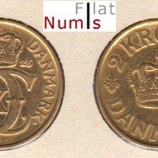 Monedas antiguas de Europa: DINAMARCA - 2 CORONAS - 1925 - E.B.C. - ALUM/BRONCE - RARA. Lote 178129190