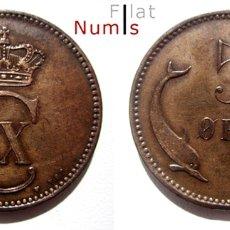 Monedas antiguas de Europa: DINAMARCA - 5 ORE - 1906 VBP - NO CIRCULADA - COBRE . Lote 178129862