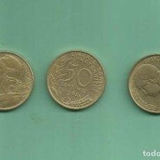 Monedas antiguas de Europa: FRANCIA: 3 MONEDAS DE 50 CENTIMES. 1962,63,64. Lote 178148809