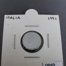 Monedas antiguas de Europa: ITALIA 50 LIRAS 1991. Lote 178151325