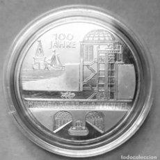 Monedas antiguas de Europa: ALEMANIA - 10 €URO 2011 - CENTENARIO DEL TÚNEL DE HAMBURGO DE RÍO ELBE - PLATA EN UNA CÁPSULA. Lote 178300192