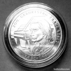 Monedas antiguas de Europa: ALEMANIA - 10 €URO 2011 - 200 ANIV. DE NACIMIENTO DE FRANZ LISZT - PLATA EN UNA CÁPSULA. Lote 178300692