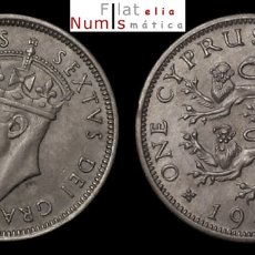 Monedas antiguas de Europa: CHIPRE - 1 CHELIN - 1949 - JORGE VI - SIN CIRCULAR. Lote 178339902