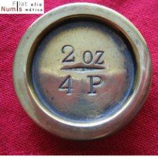 Monedas antiguas de Europa: GRAN BRETAÑA - PONDERAL - 2 OZ - 4 P - SAMPSON MORDAN & CO - BRONCE. Lote 178341065