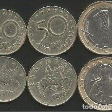 Monedas antiguas de Europa: BULGARIA 1999/2002 - LOTE DE 3 MONEDAS CIRCULADAS. Lote 178350537