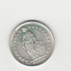 Monedas antiguas de Europa: SUIZA-1/2 FRANCO-1914-PLATA. Lote 178393355
