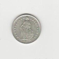 Monedas antiguas de Europa: SUIZA-1/2 FRANCO-1943-PLATA. Lote 178573986