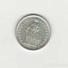Monedas antiguas de Europa: SUIZA-1/2 FRANCO-1957-PLATA-SC-. Lote 178574366