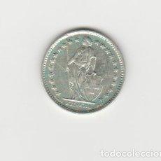 Monedas antiguas de Europa: SUIZA-1/2 FRANCO-1958-PLATA-SC-. Lote 178574412