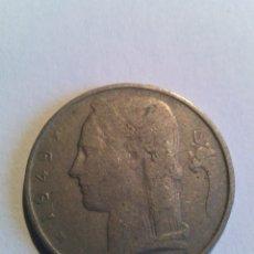 Monedas antiguas de Europa: BÉLGICA 5FR 1949. Lote 178755476