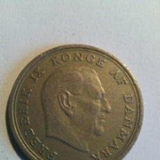 Monedas antiguas de Europa: DINAMARCA 1 KRONE 1968 (19-68). Lote 178756272