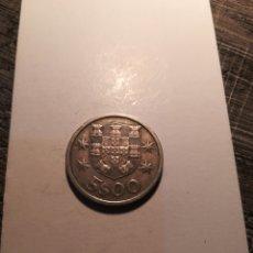 Monedas antiguas de Europa: 5 ESCUDOS PORTUGAL 1966. Lote 178913292