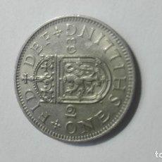 Monedas antiguas de Europa: E48- MONEDA DE UN SHILLING DEL AÑO 1963 DEL REINO UNIDO. Lote 178959561