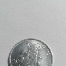 Monedas antiguas de Europa: E51- BUENA MONEDA DE 50 STOTINOV DEL AÑO 1993 DE ESLOVENIA. Lote 178961962
