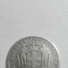 Monedas antiguas de Europa: E52- MONEDA DE DOS DRACMAS DEL AÑO 1957 DE GRECIA. Lote 178962482