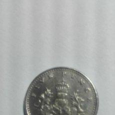 Monedas antiguas de Europa: E56- MONEDA DE CINCO PENCE DEL AÑO 1990 DEL REINO UNIDO. Lote 178964908