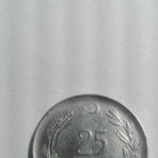 Monedas antiguas de Europa: E57- MONEDA DE 25 KURUS DEL AÑO 1969 DE TURQUIA. Lote 178965251