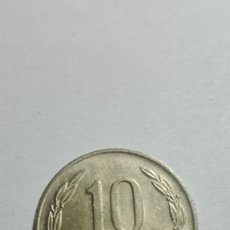 Monedas antiguas de Europa: E70- MONEDA DE DIEZ PESOS DEL AÑO 1989 DE CHILE. Lote 178980652
