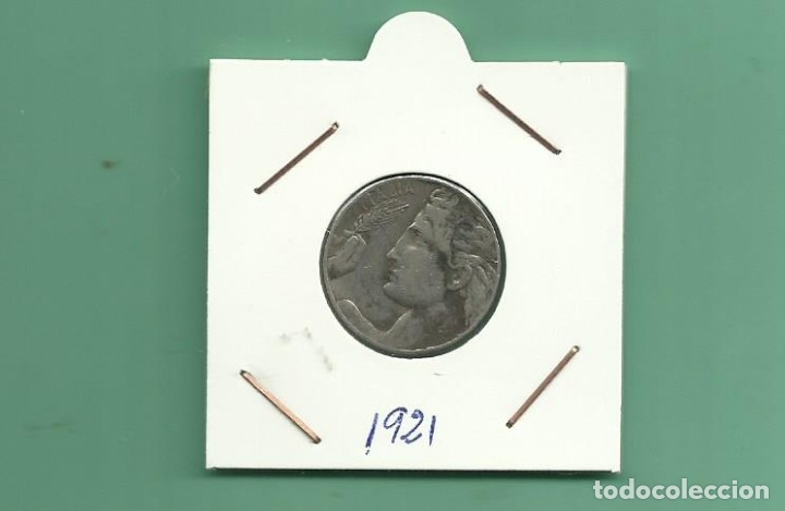 ITALIA: 20 CENTESIMI 1921. NIQUEL (Numismática - Extranjeras - Europa)