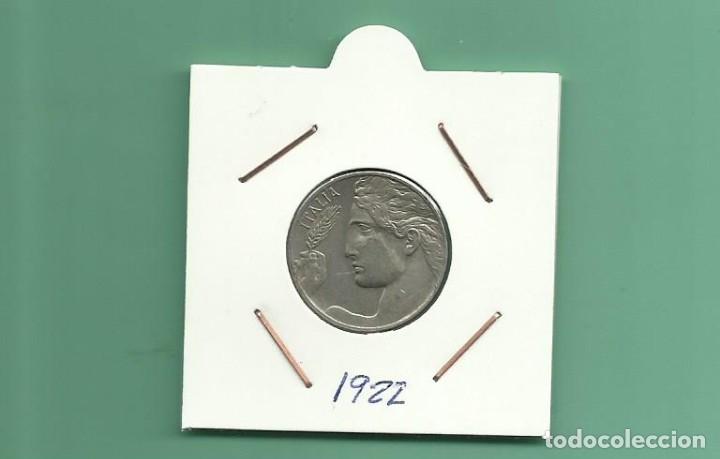 ITALIA: 20 CENTESIMI 1922. NIQUEL (Numismática - Extranjeras - Europa)