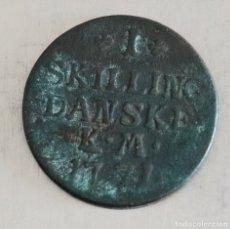 Monedas antiguas de Europa: 1 SKILLING 1771 DINAMARCA. Lote 179072826
