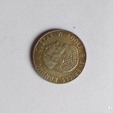 Monedas antiguas de Europa: 1 CORONA SUECA DE PLATA 1963 (19-63) GUSTAV VI ADOLF. Lote 179151507