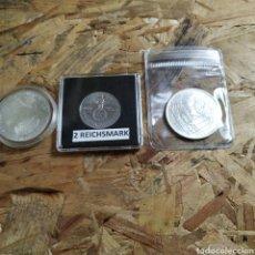 Monedas antiguas de Europa: 3 MONEDAS DE PLATA ALEMANAS. Lote 179187102