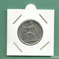 Monedas antiguas de Europa: ITALIA. 1 LIRA 1922. NIQUEL. Lote 179218273