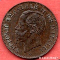Monedas antiguas de Europa: ITALIA : 2 CENTESIMI 1861 VICTORIO EMANUELE II. Lote 179323742
