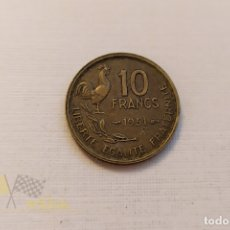 Monedas antiguas de Europa: MONEDA DE LA REPÚBLICA FRANCESA - 10 FRANCS - 1951. Lote 179396358