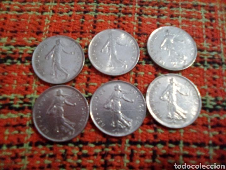 Monedas antiguas de Europa: Monedas 5 francs - Foto 2 - 180094776