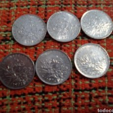 Monedas antiguas de Europa: MONEDAS 5 FRANCS. Lote 180094776